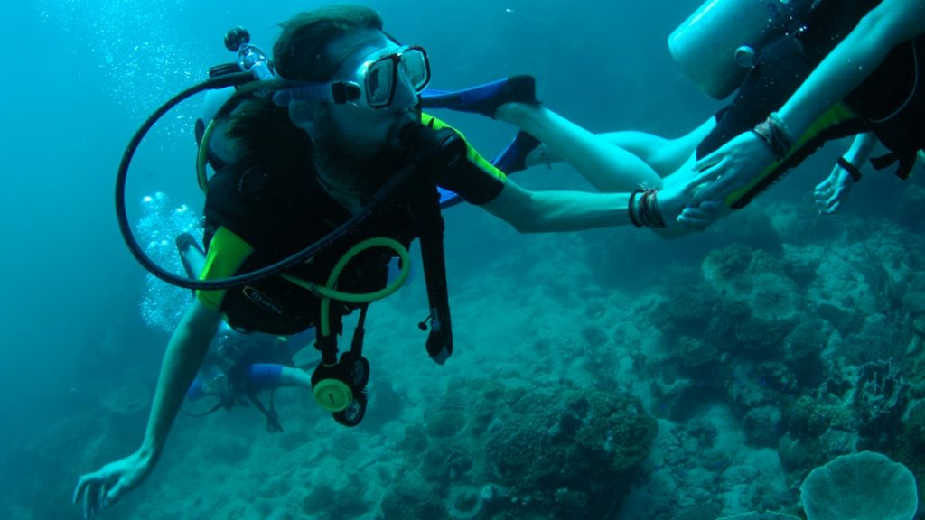 Scuba diving on koh Chang
