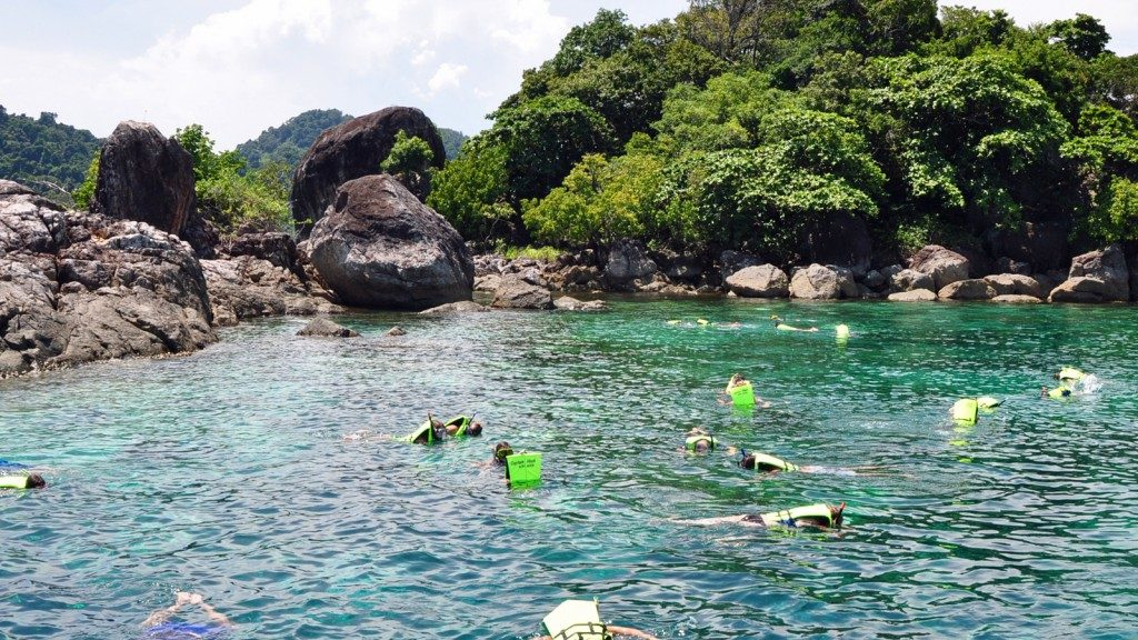 Snorkelling tours on Koh Chang