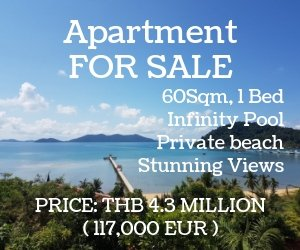 Apartment for sale on Koh Chang