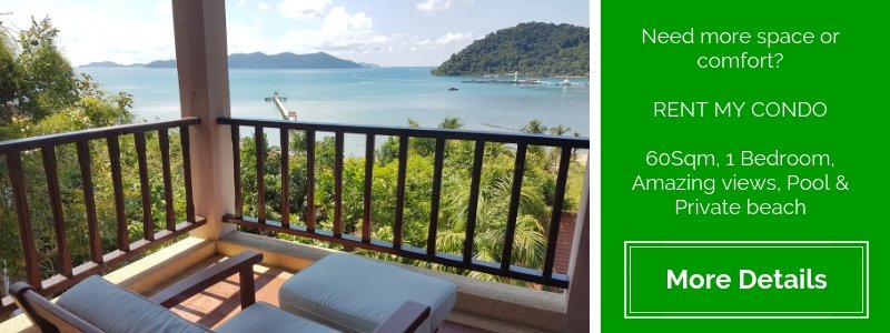 Beautiful views from Tranquility Bay Apartment, Koh Chang